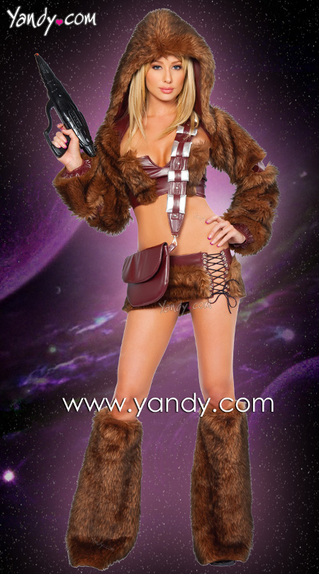 female chewbacca