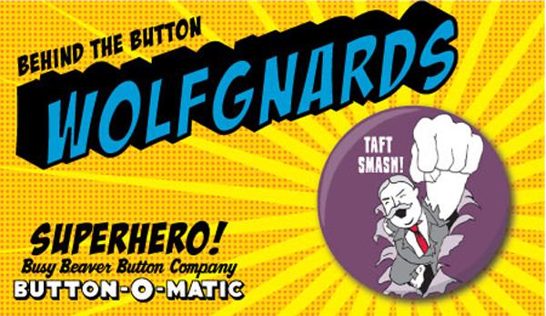Wolf Gnards Button