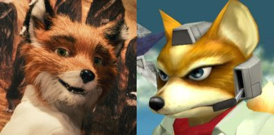 Mr. Fox and Fox McCloud