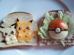 Pikachu Sandwhich