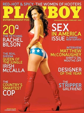 Wonder Woman Playboy