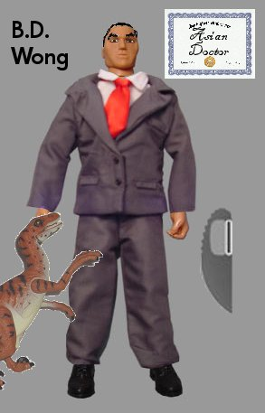 BD Wong Action Figure
