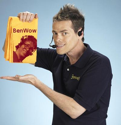 Ben Folds Brand ShamWow