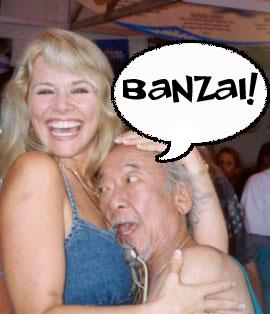 Miyagi says Banzai!