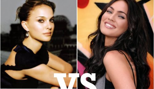 Natalie Portman vs Megan Fox