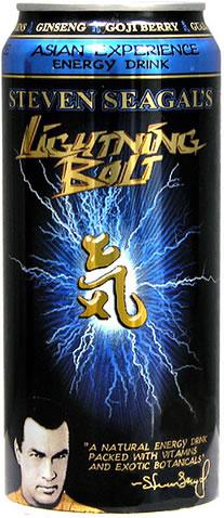 Steven Seagal's Lightning Bolt