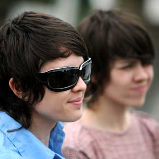 Tegan and Sara Sunglasses