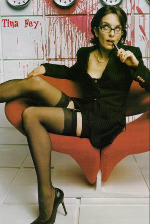Tina Fey legs