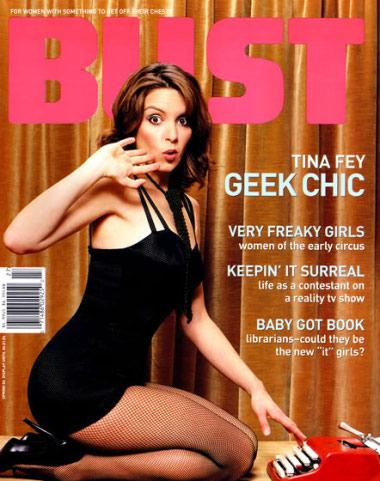 Tina Fey Bust