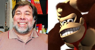 Wozniak and Donkey Kong