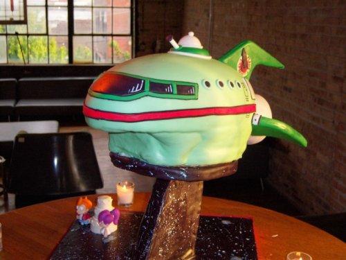 planet express cake