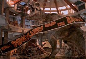 Jurassic Park Ending
