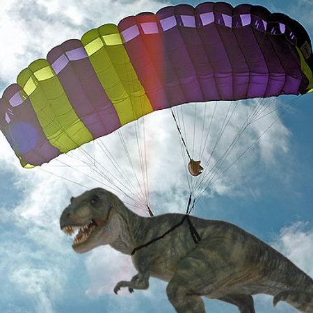 T-Rex Parachute