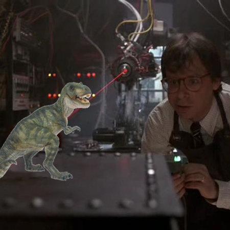 T-Rex Shrinking
