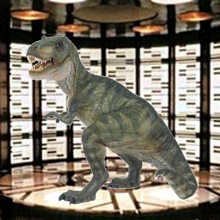 T-Rex Teleporter Pad
