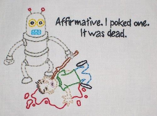 Robot Stab